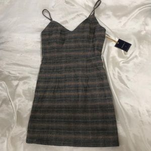 Forever 21 Plaid Mini Dress NEVER WORN WITH TAGS